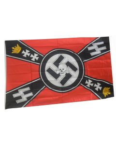 GERMAN SS CROWN FLAG ww2