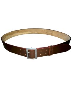 WW11 GERMAN OFFICERS LUFTWAFFE OR ARMY BROWN LEATHER BELT