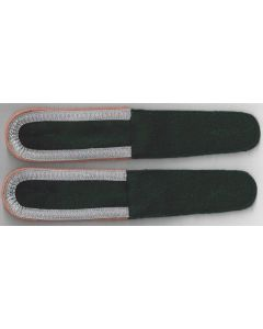 GERMAN UNTEROFFIZIER BOTTLE GREEN SHOULDER BOARDS ( PANZER )