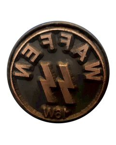 GERMAN WWII WAFFEN SS WOODEN HAND STAMP