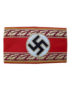 NAZI REICHSLEITER POLITICAL LEADER ARMBAND NATIONAL LEVEL