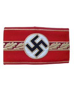 WW2 GERMAN GAULEITER POLITICAL LEADER ARMBAND
