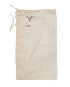 GERMAN LUFTWAFFE PERSONAL STAMPED BAG 1940