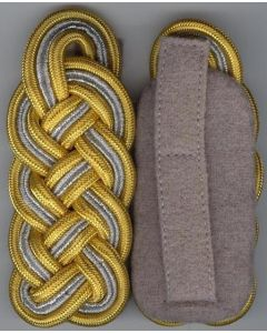 GERMAN WAFFEN SS GENERAL SHOULDER BOARDS