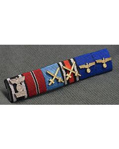 GERMAN GENERAL HEINRICH EBERBACH RIBBON BAR