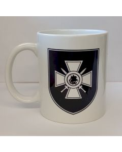 GERMAN WWII 29th  WAFFEN SS GRENADIER DIVISION RONA COFFEE MUG