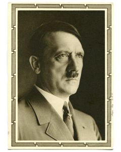 GERMAN ADOLF HITLER POSTCARD