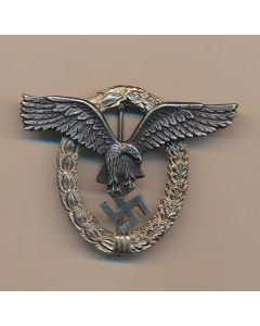 GERMAN ANTIQUE PILOT'S BADGE