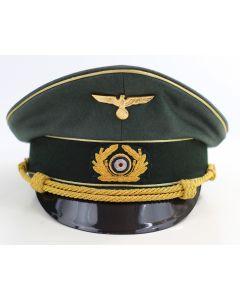 GERMAN ARMY GENERAL VISOR CAP