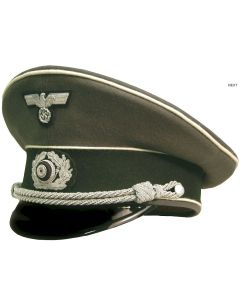 GERMAN ARMY INFANTRY OFFICER VISOR CAP