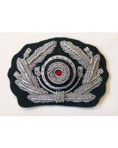 GERMAN ARMY OFFICERS CAP WREATH CAP INSIGNIA