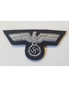 GERMAN ARMY OFFICERS PANZER CAP EAGLE