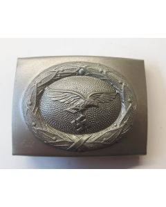 GERMAN BELT BUCKLE LUFTWAFFE SILVER