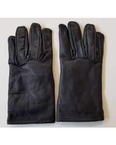 GERMAN BLACK LEATHER GLOVES
