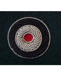 GERMAN BULLION ARMY CAP COCKADE- DARK GREEN