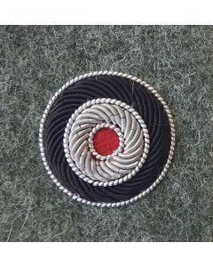 GERMAN BULLION HEER ( ARMY) FIELD GREY CAP COCKADE