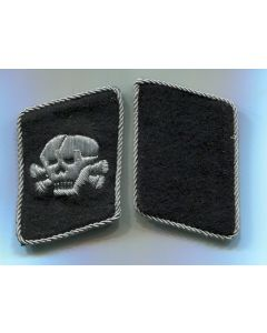GERMAN BULLION SS TOTENKOPT COLLAR TABS