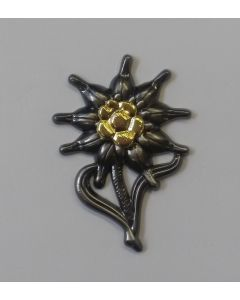 GERMAN EDELWEISS MEDAL HAT BADGE