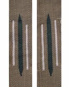 GERMAN EM INFANTRY BEVO LITZEN COLLAR TABS