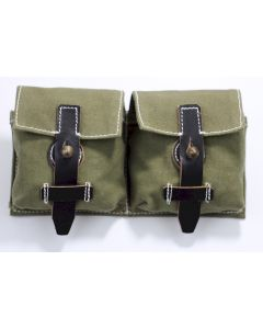 GERMAN G43 AMMO POUCH SET GREEN