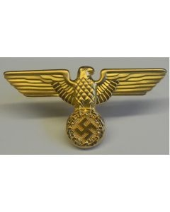 GERMAN GOLD POLITICAL LEADERS CAP EAGLE