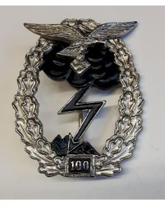 GERMAN GROUND COMBAT BADGE OF THE AIR FORCE 100 ACTIONS