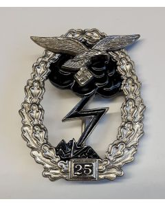 GERMAN GROUND COMBAT BADGE OF THE AIR FORCE 25 ACTIONS
