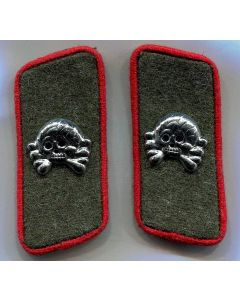GERMAN WW2 HEER PANZER ARTILLERY COLLAR TAB