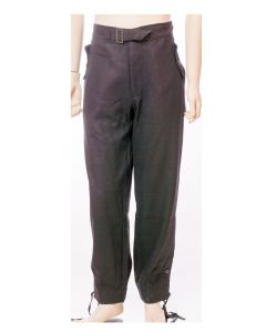GERMAN HEER PANZER PANTS - BLACK