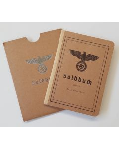 GERMAN BLANK HEER SOLDBUCH AND COVER
