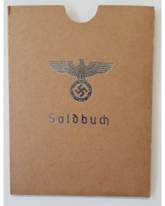 GERMAN HEER SOLDBUCH  COVER