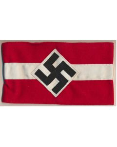 GERMAN HITLER YOUTH ARM BAND