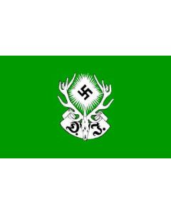 GERMAN HUNTING SOCIETY 1934 FLAG Poly