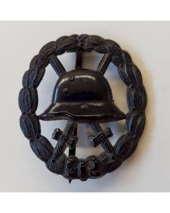 GERMAN IMPERIAL BLACK WOUND BADGE CUT-OUT