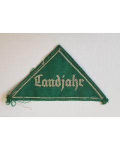 GERMAN LANDJAHR MEMBER SLEEVE TRIANGLE PATCH