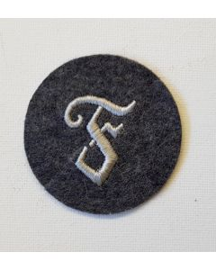 GERMAN LUFTWAFFE ORDNANCE PERSONNEL'S WW2 TRADE PATCH