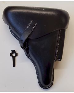 GERMAN LUGER P08 HOLSTER WITH STRIPPING LUGER TOOL