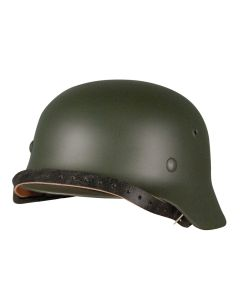 GERMAN M40 HELMET FRONT VIEW
