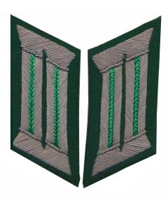 GERMAN MOUNTAIN TROOP OFFICER COLLAR TABS
