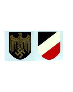 GERMAN NAVY HELMET DECAL