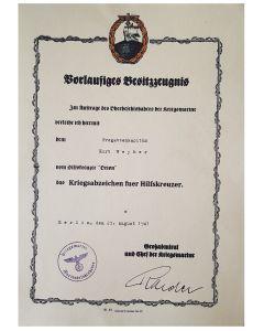 GERMAN NAVY HILFSKREUZER FREGATTENKAPITAN KURT WEYHER
