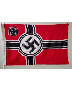 GERMAN NAZI BATTLE FLAG Cotton