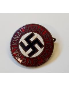 GERMAN NSDAP MEMBERSHIP BADGE GES. GESCH