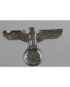 GERMAN POLISHED NSDAP WALL EAGLE