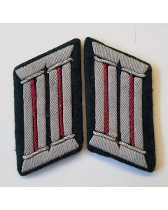 GERMAN PAIR OF OFFICER'S SMOKE TROOP COLLAR TABS