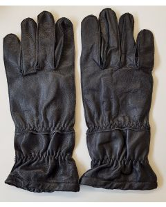 GERMAN PARATROOPER GLOVES - BLACK LEATHER