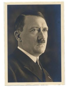 GERMAN POSTCARD ADOLF HITLER PORTRAIT