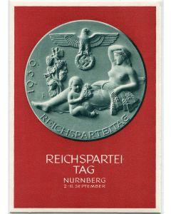 GERMAN REICHSPARTEITAG NURNBERG 1939 POSTCARD