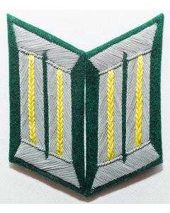 GERMAN SIGNALS OFFICER COLLAR TABS