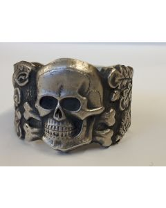 GERMAN SKULL RING ( ANTI - PARTISAN )